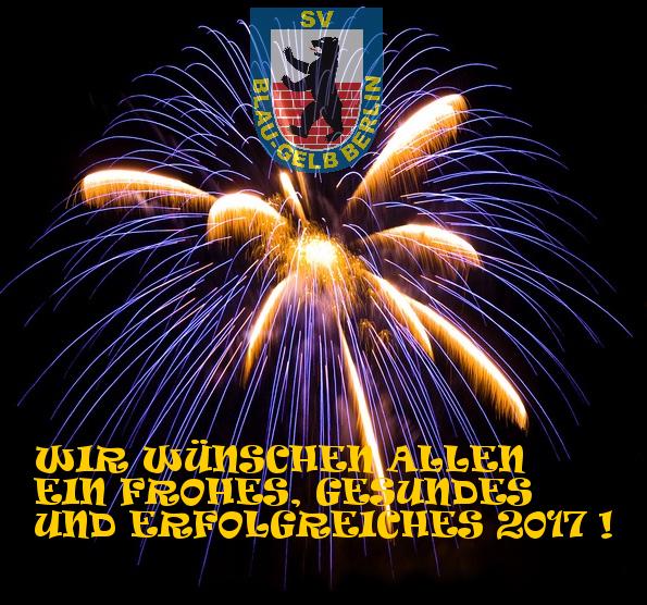 SV Blau-Gelb Hockey wünscht ein erfolgreiches neues Jahr! | SV Blau ...