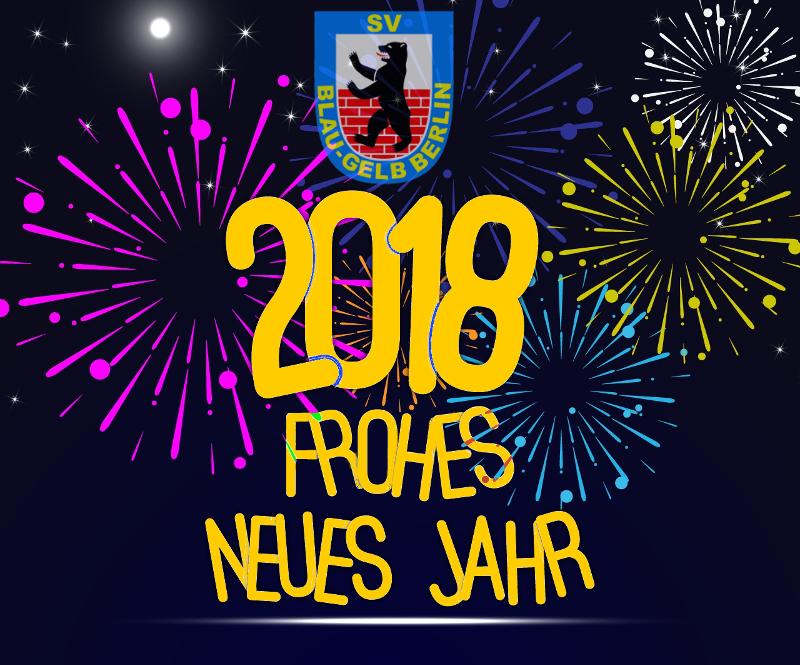 Blau-Gelb wünscht allen ein erfolgreiches neues Jahr! | SV Blau Gelb ...